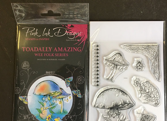 Pink Ink Designs Stamp Set -A6 - TOADALLY AMAZING