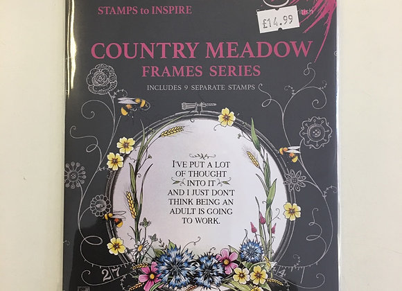 Pink Ink Designs Country Meadow Stamp Set