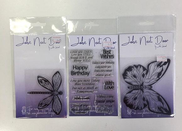 John next door - 3 stamp sets