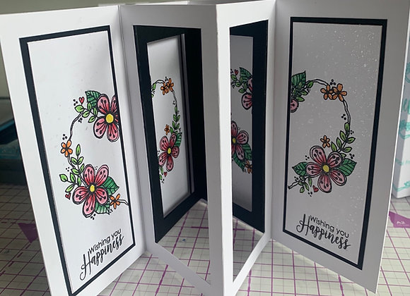 Online Workshop - Popout card -3 ways - released 23rd May