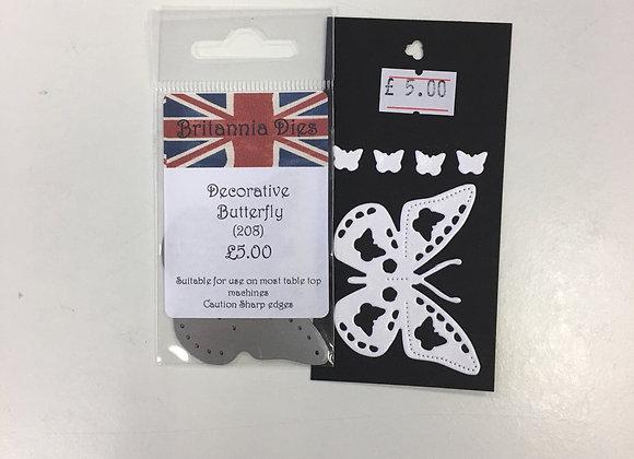 Britannia Dies - Decorative Butterfly