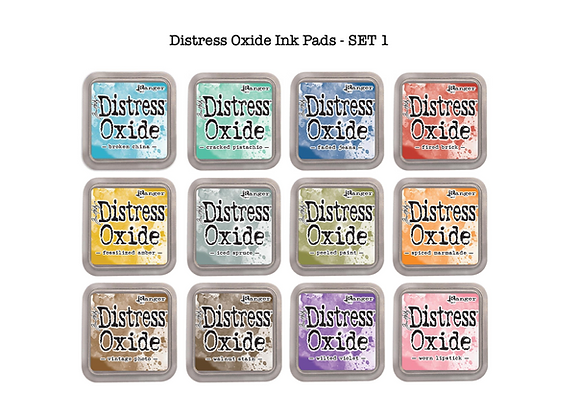 Distress Oxide Ink Pad Selection - SET 1- £.5.99 Each