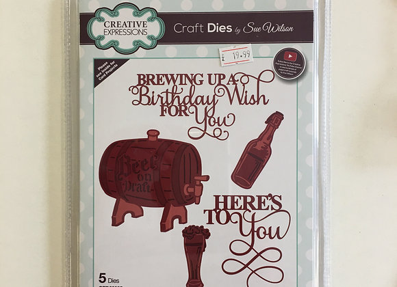 Creative Expressions necessities - birthday brewing