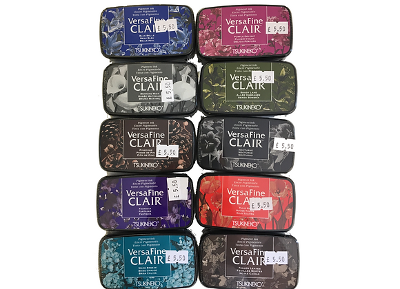 VersaFine Clair Ink Pad Selection -£5.50 Each