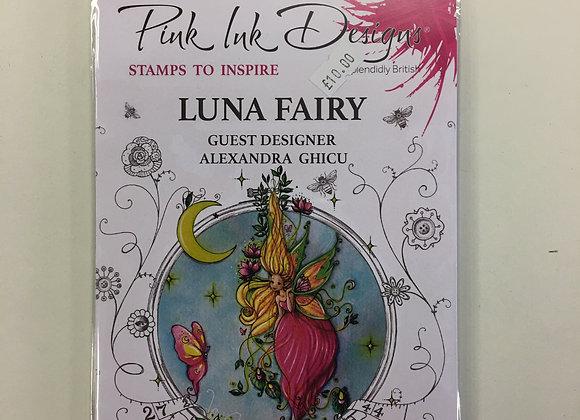 Pink Ink Stamps - Luna Fairy