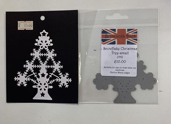 Britannia Dies Snowflake Christmas Trees (small)