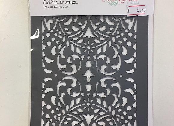 Couture Creations - C'est la vie Stencil
