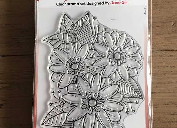 WoodWare Stamp - PASSION FLOWER