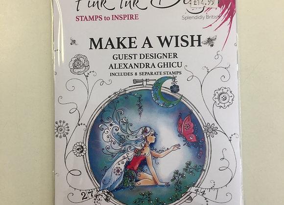 Pink Ink Designs Make a Wish Stamp Set
