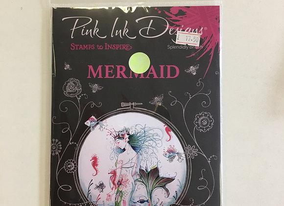 Pink Ink Designs Mermaid Stamp Set
