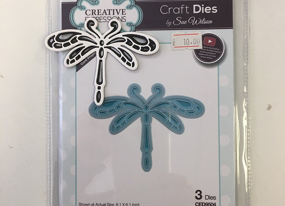 Creative Expressions Dragonfly cutting die