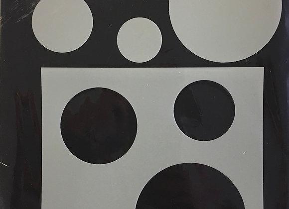 Stencil /Mask - Circles