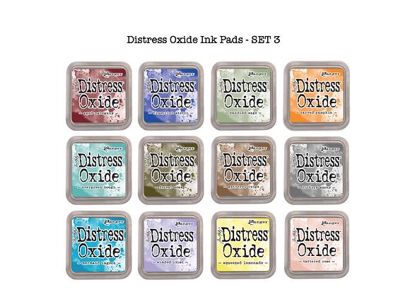 Distress Oxide Ink Pad Selection - SET 3 - £5.99 Each