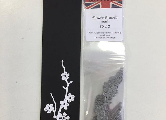 Britannia dies - Flower branch