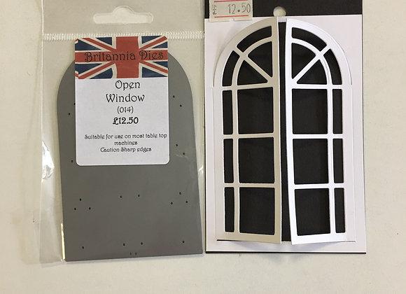 Britannia Dies Open Window
