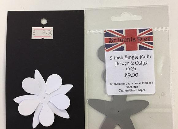 """Britannia dies - Multi flower & Calyx -2"""""""