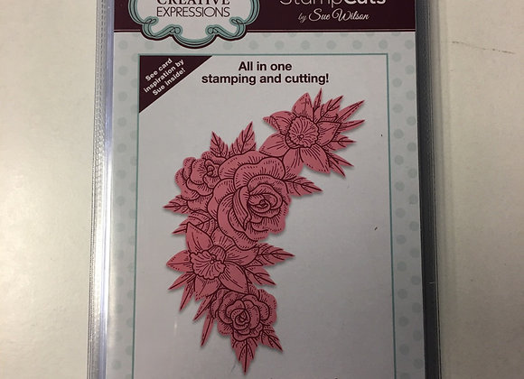 Creative  Expressions cutting die - STAMPCUTS - SPRING ROSES & DAFFODILS