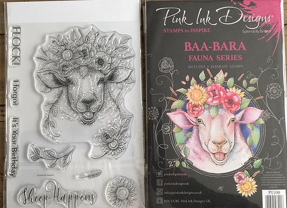 Pink Ink Designs Stamp Set- BAA-BARA