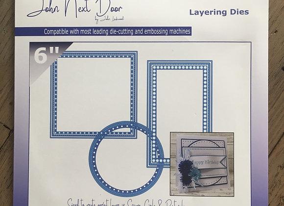 """John Next Door - Layering Die - 6"""""""