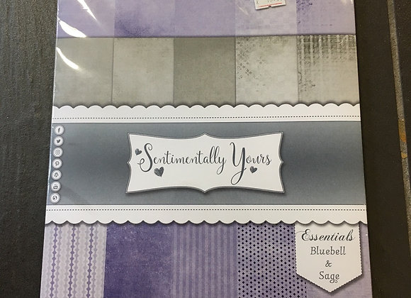 SENTIMENTALLY YOURS PAPERS - BLUEBELL & SAGE