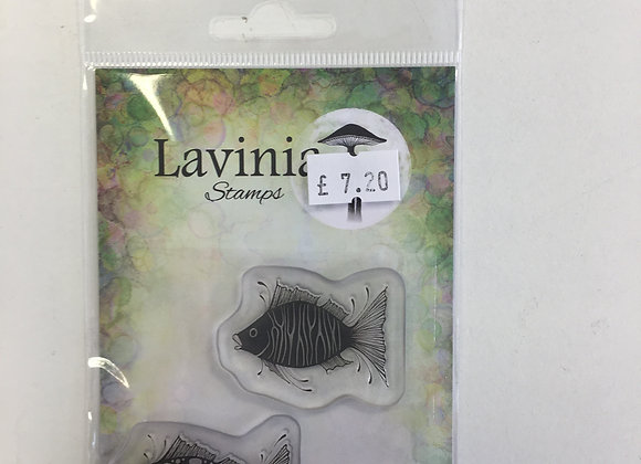 Lavinia Stamps -Fish Set - Lav621
