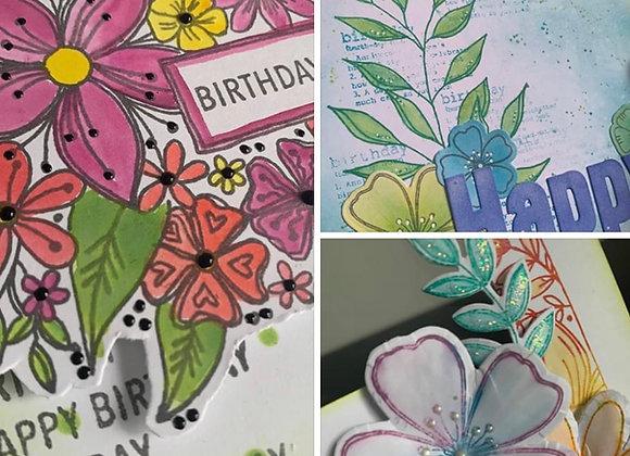 Online Workshop - 15 x 30 Card Folds