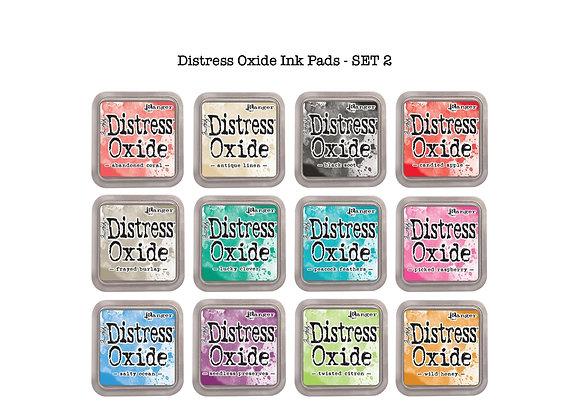 Distress Oxide Ink Pad Selection - SET 2 -£5.99 Each