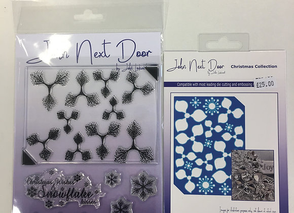 JND Snow Flower Stamps & Die Set