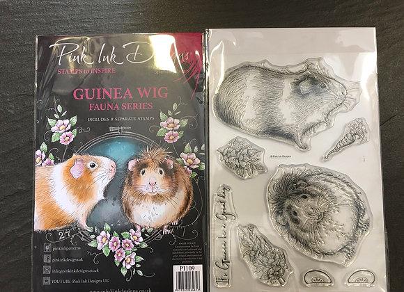 Pink Ink Designs Stamp Set- GUINEA WIG