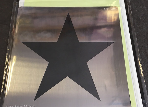 SWEET POPPY METAL STENCIL - APERTURE STAR
