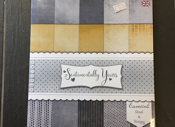 SENTIMENTALLY YOURS PAPERS- STEEL & HONEY