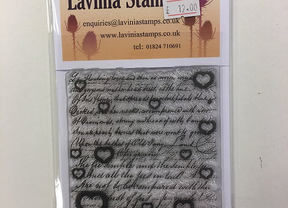 Lavinia Stamp - Background Stamp