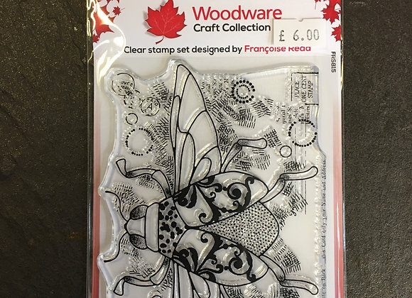 WoodWare Stamp - DANCING BEETLE