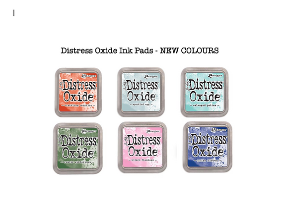 Distress Oxide Ink Pad Selection - NEW COLOURS- £5.99 Each