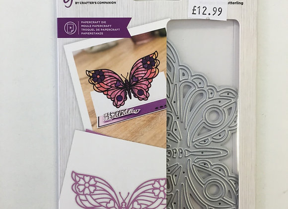 Gemini cutting die - Bold Butterfly