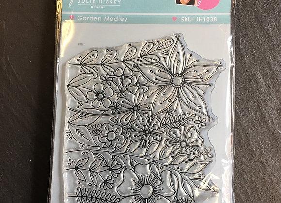 Julie Hickey Designs - GARDEN MEDLEY STAMP SET