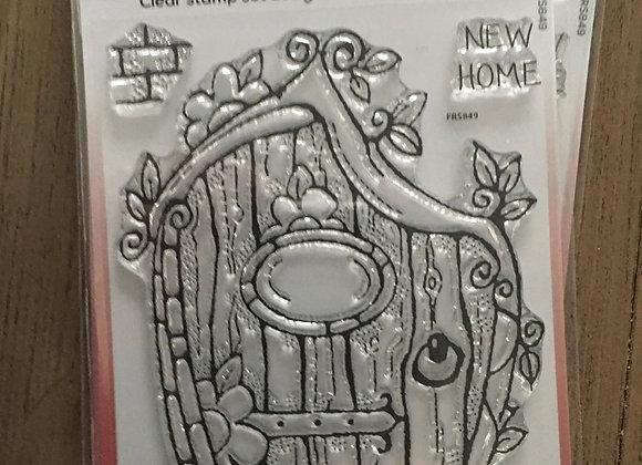 WoodWare Stamp - FAIRY DOOR