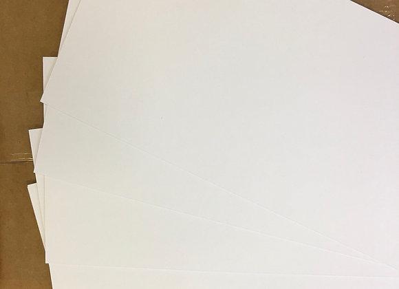 18cm x 36cm Supersmooth unscored Card