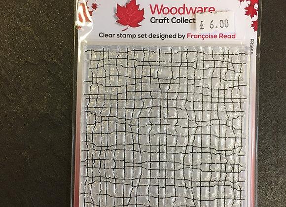 WoodWare Stamp - FINE MESH