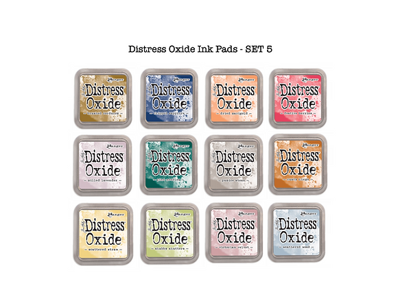 Distress Oxide Ink Pad Selection - SET 5 -£5.99 Each