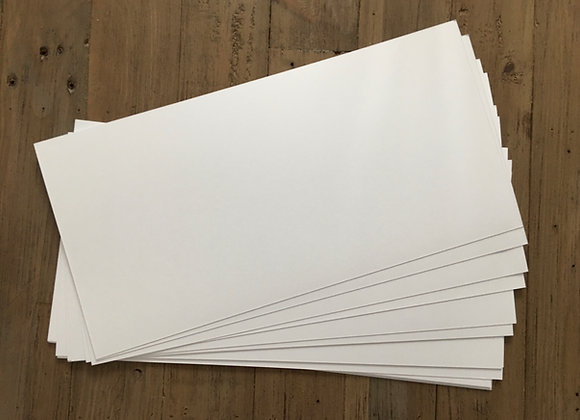 15cm x 30cm Super Smooth Card