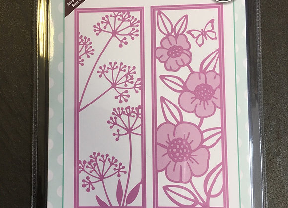 CREATIVE EXPRESSIONS - FLORAL PANELS - COSMOS