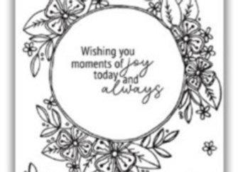 JHD Joyful Blooms Stamp Set