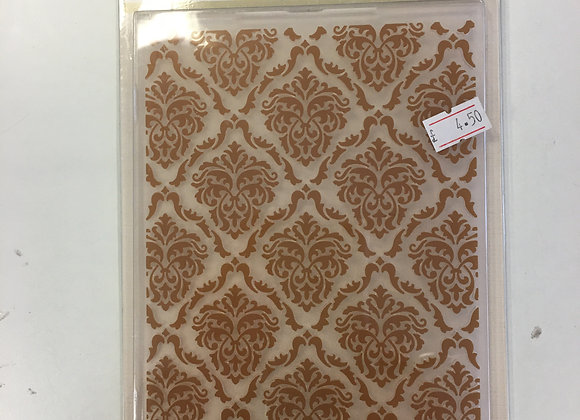 Crafters Companion  Embossing Folder -Decadent Damask