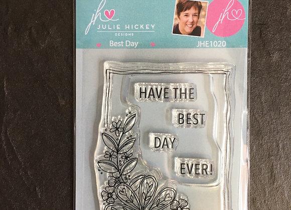 Julie Hickey Designs - BEST DAY STAMP SET