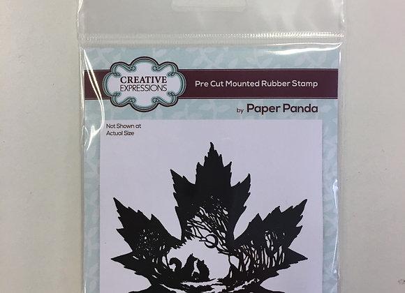 PAPER PANDA STAMP - FALL