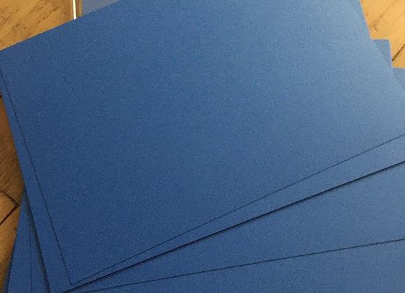 TRUE BLUE CARD -A4  - 20 sheets