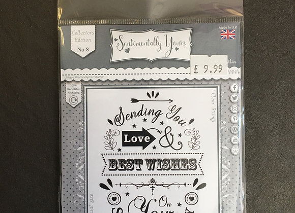 Sentimentally Yours Special Day Stamp set