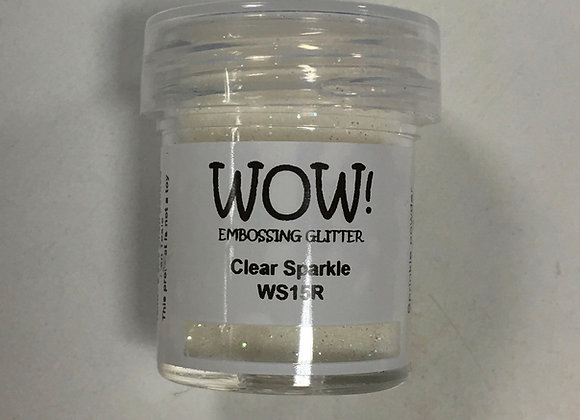 WOW EMBOSSING POWDER - CLEAR SPARKLE