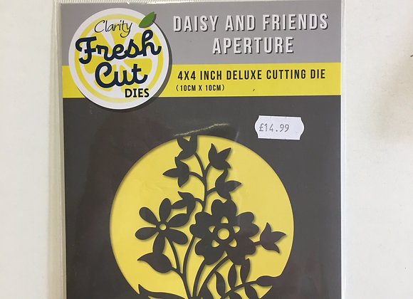 Clarity Daisy & Friends Aperture Die